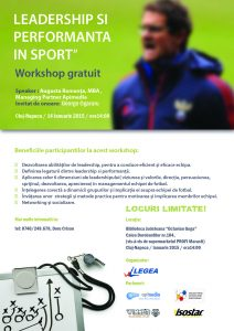 Leadership si Performanta in Sport