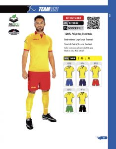 Echipament fotbal Kit Outsider